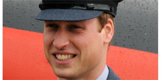 Prinz William flog mit Armee-Heli zur Freundin