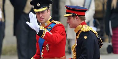 Prinz William in der Abbey eingetroffen