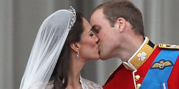 Will und Kate aus den Flitterwochen zurück