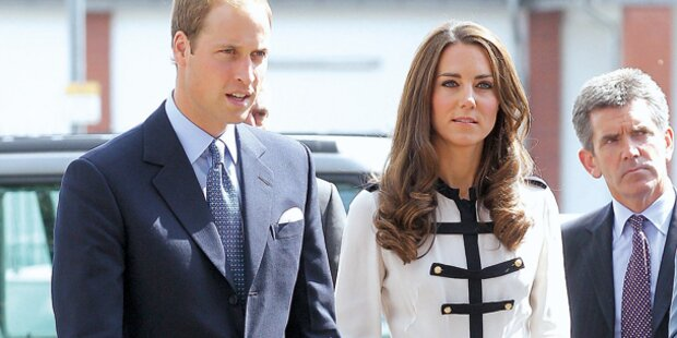 Queen sorgt sich um Kates Gewicht