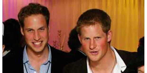 William ließ bei Junggesellenabschied Hosen fallen