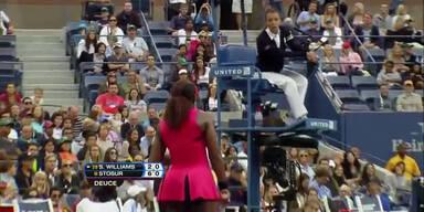 Serena Williams rastet verbal aus