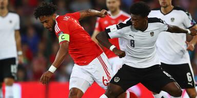 Kein Rot für Wales-Kapitän nach fiesem Foul