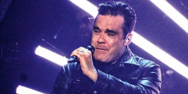 Robbie: Tränen beim Tourstart