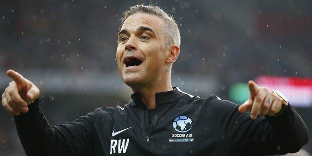 Robbie Williams eröffnet WM in Russland