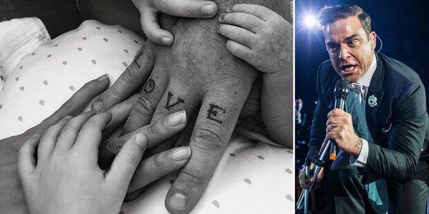 Robbie Williams - Baby von Leihmutter!