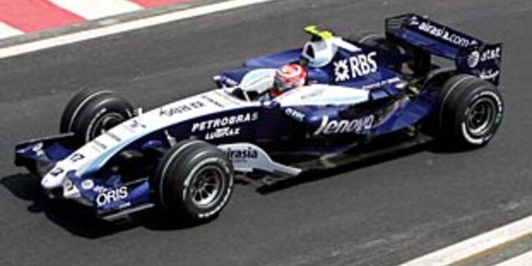 Williams 2008 mit Rosberg und Nakajima