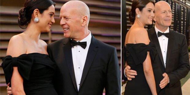 Bruce Willis & Emma Heming im Baby-Glück