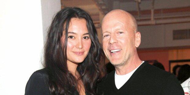 Bruce Willis im Babyglück