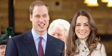 'No Baby' für Kate & William