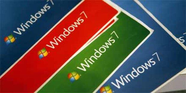 Windows 7 ist und bleibt eine Goldgrube