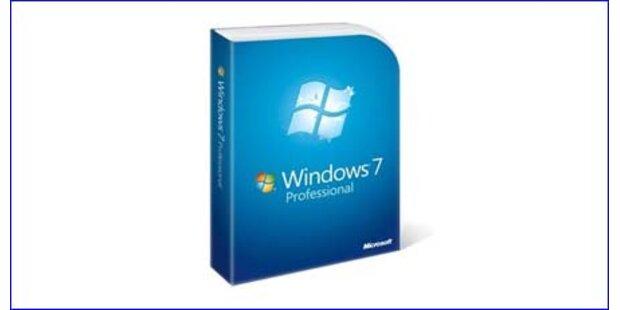 Windows 7-Erfolgsstory nimmt kein Ende