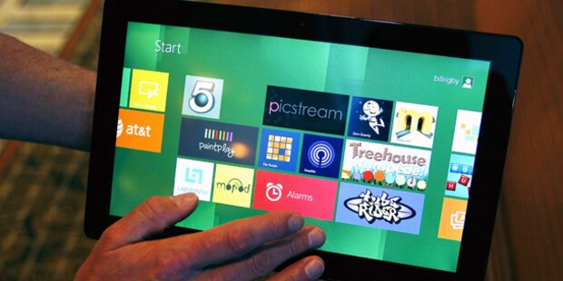 Microsoft zeigt fertiges Windows 8 - mit Fotos