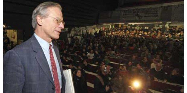 Uni-Rektor reißt die Geduld