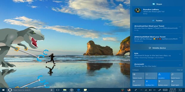 Windows 10 bekommt völlig neues Design