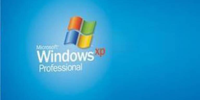 Lebenszyklus von Windows XP bis 2010 verlängert