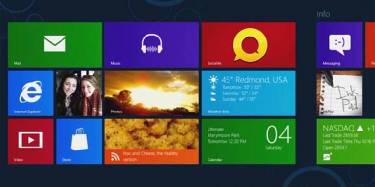 Beta-Version von Windows 8 ist da