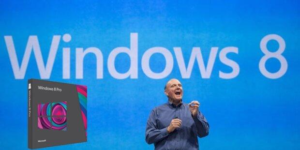 Windows 8-Upgrade kostet nur 30 Euro