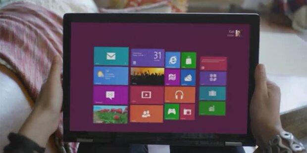 Letzte Windows 8-Beta gratis herunterladen