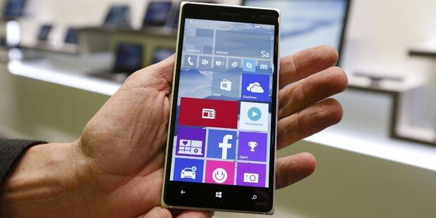 Windows-Smartphones jetzt auch offiziell