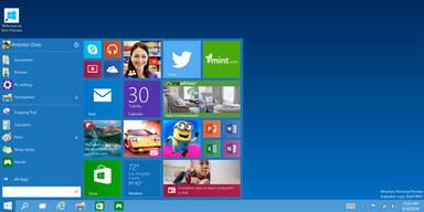 Alle Infos vom neuen Windows 10