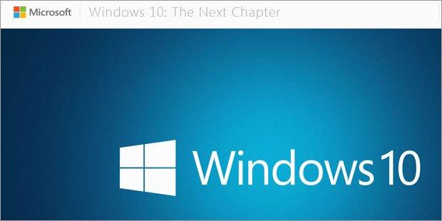 Windows 10: Microsoft zeigt Neuigkeiten