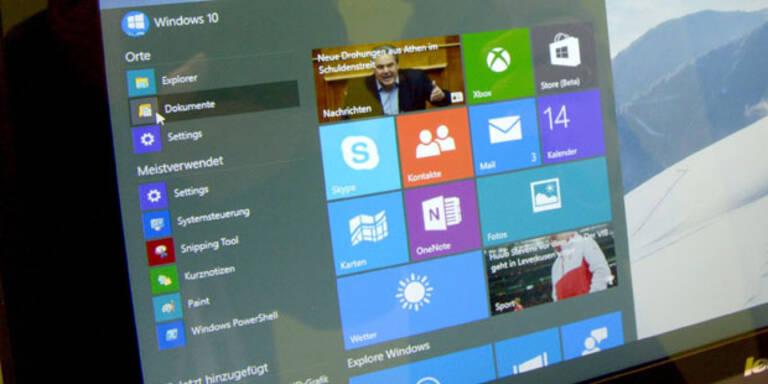 Kostenloses Windows 10 ab sofort reservierbar