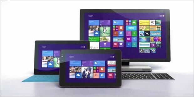 Windows 8.1 Download ist verfügbar