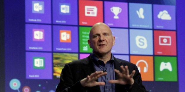Windows 8 wurde 40 Millionen Mal verkauft