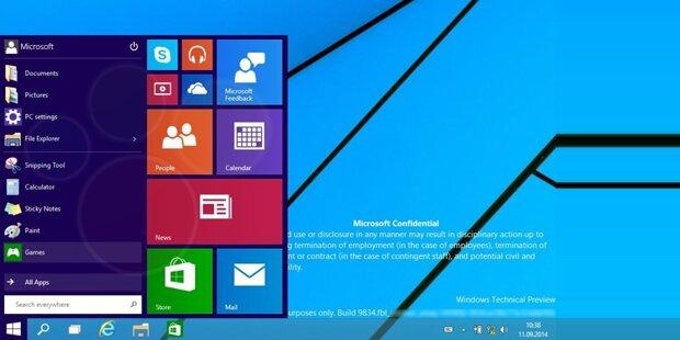 Microsoft gibt Blick auf neues Windows