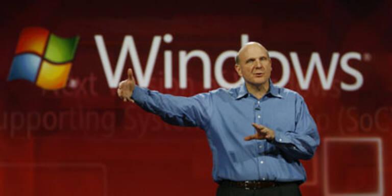 """Steve Ballmer: """"Windows 8 kommt 2012"""""""