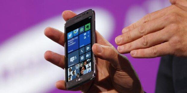 Surface-Smartphone bereits im Test