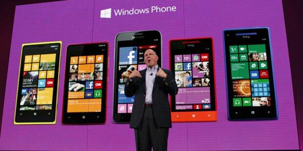 Jetzt starten die Windows Phone 8-Handys