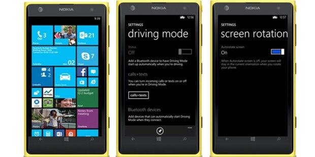 Großes Update für Windows Phone 8