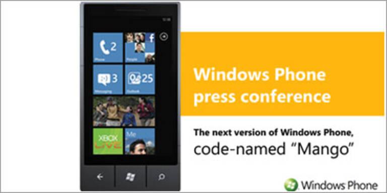 Microsoft stellt Windows Phone 7 Mango vor