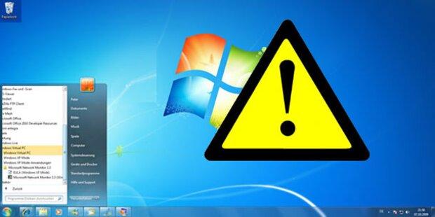 Vorsicht: Mega-Lücke auch bei Windows