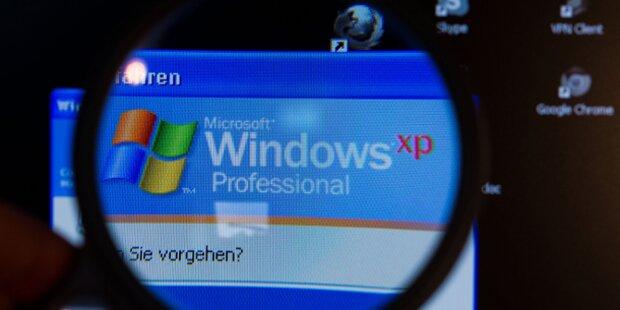 Microsoft repariert IE sogar für XP-Nutzer