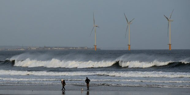 Orkan brachte Deutschland Windstrom-Rekord