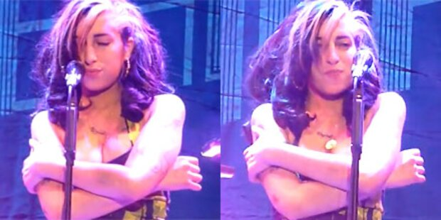 Amy: Buh-Rufe für betrunkenes Lallen