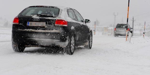 Auto unbedingt noch winterfit machen