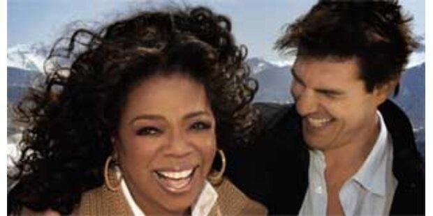 Tom Cruise war wieder auf Oprahs Couch