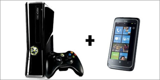 A1 schenkt WP7- Handy-Käufern eine Xbox 360