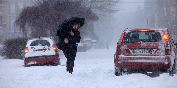 Schnee zu Ostern: 200 Feuerwehreinsätze