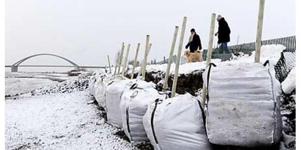 Schnee sorgt europaweit für Chaos