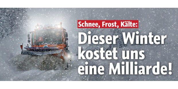 Winter kostet uns eine Milliarde