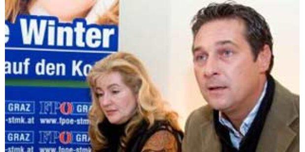 Strache verteidigt Winter und attackiert Richter