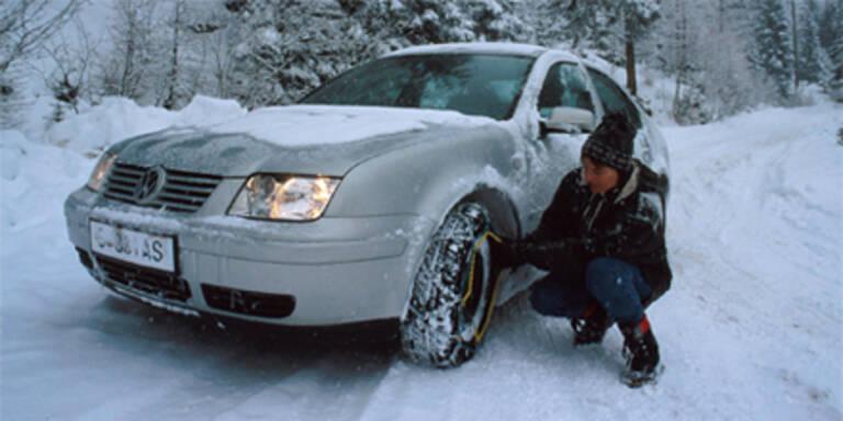 Auto noch unbedingt winterfit machen