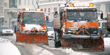 Winterdienste weiter im Dauereinsatz