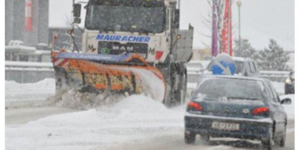 Wintereinbruch macht Österreich zu Schaffen