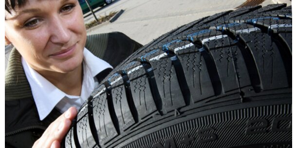 Reifen-Händler hoffen auf Absatzplus